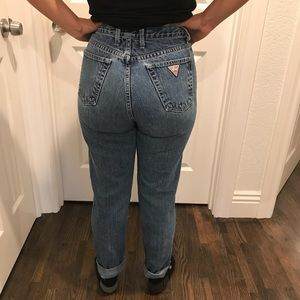Vintage guess high rise jeans